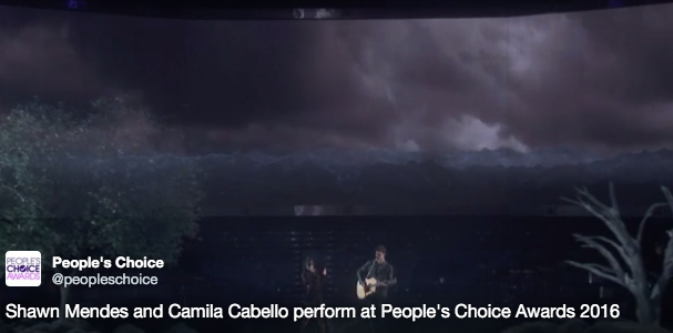 Shawn Mendes and Camila Capello Amazing Duet