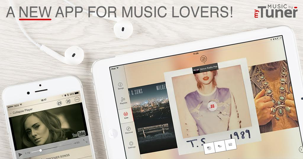 Music by myTuner - Listen to all your songs for free on your iPhone/iPad Image