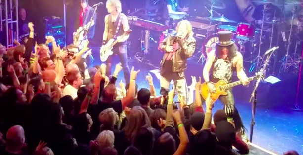 Guns N' Roses Reunion After 23 Years