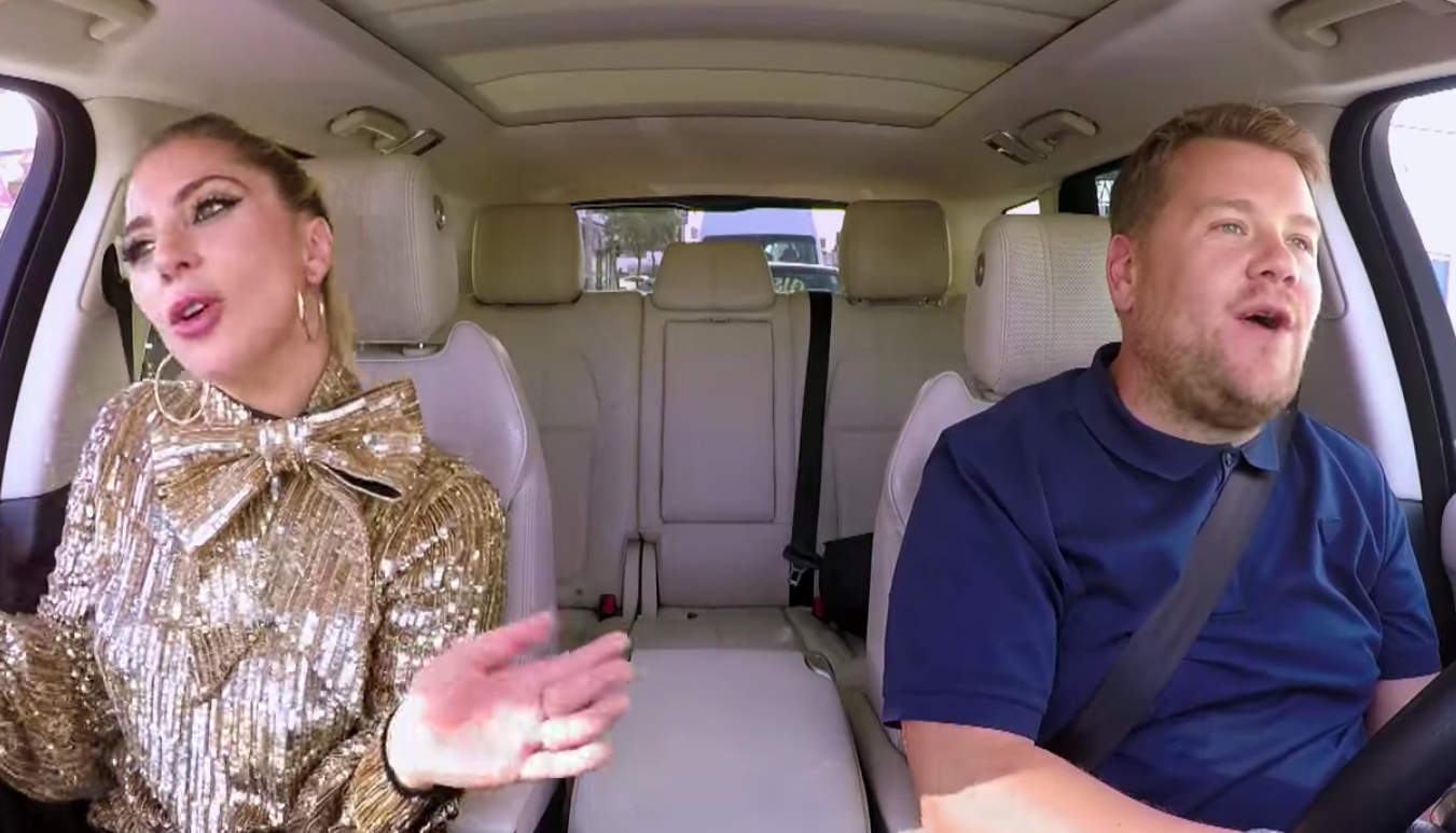 "Watch Lady Gaga on ""Carpool Karaoke"""