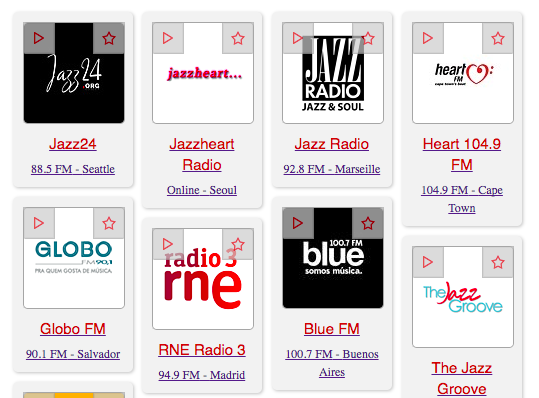 10 on the 10th - The 10 Best Jazz Radio Stations