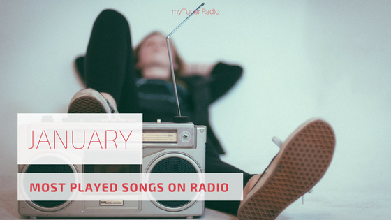 Most Played on Radio | January