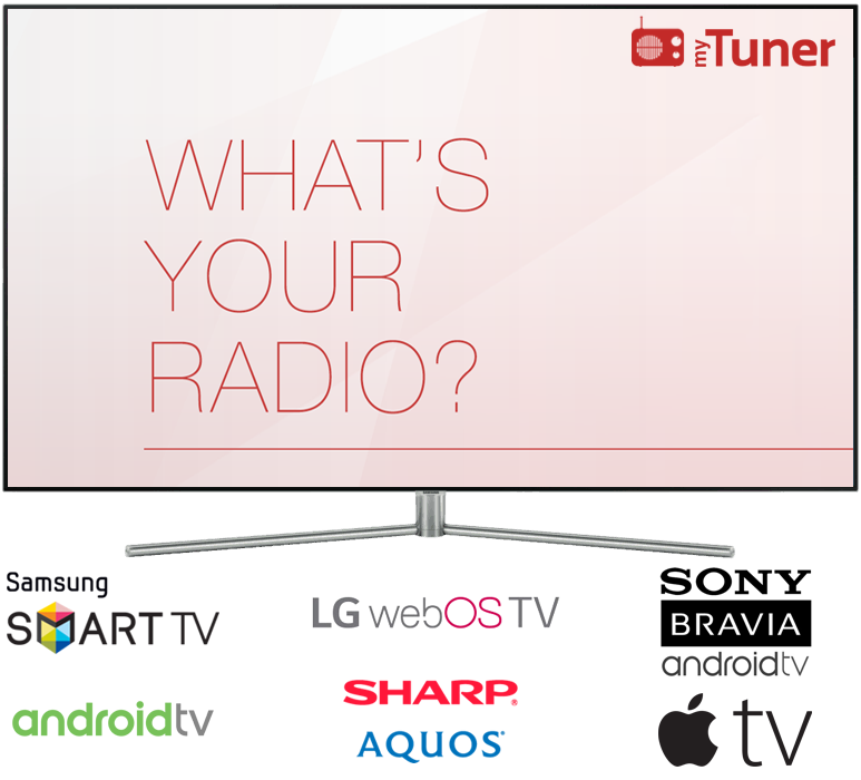 myTuner Radio for TVs: Apple TV, Samsung and LG Image