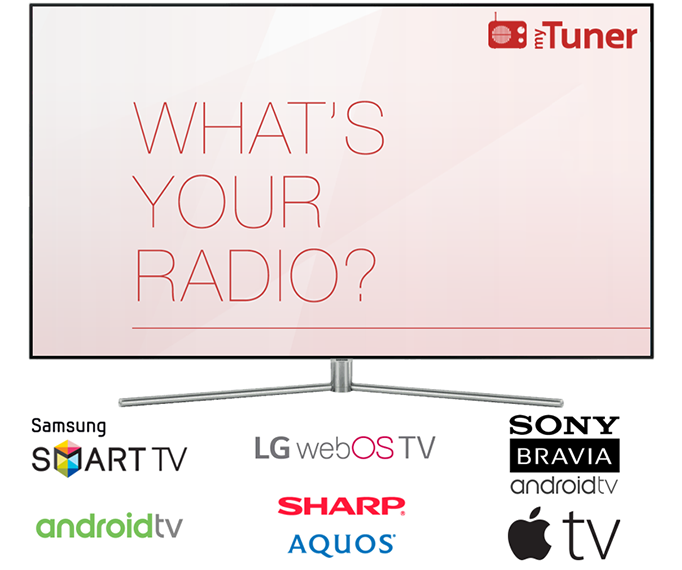myTuner Radio is now on Samsung and LG smart TVs